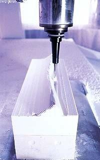 Placas de poliuretano para usinagem