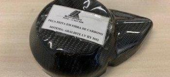 Tecido de fibra de carbono